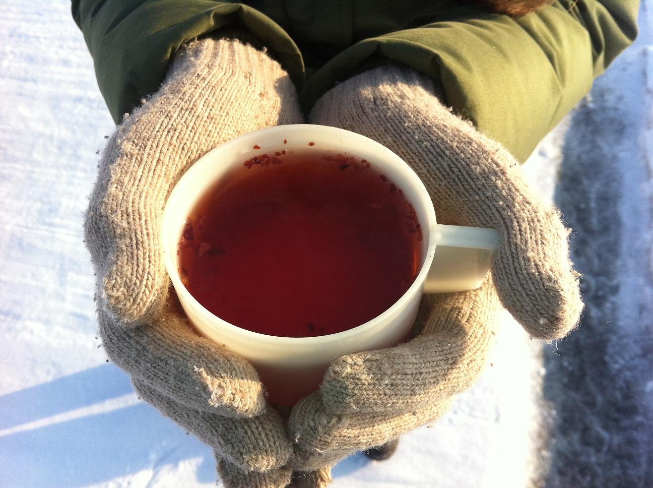 Согревающий чай это