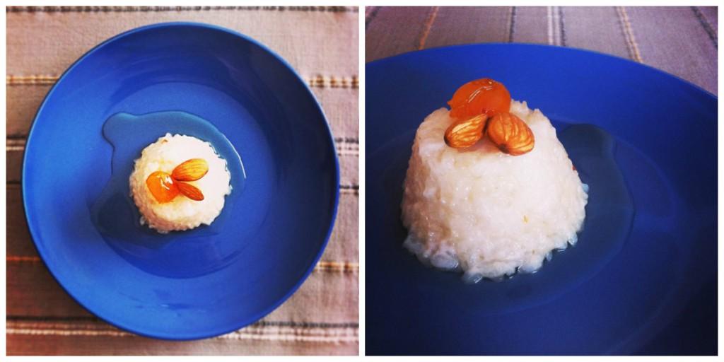 Постный рисовый пудинг