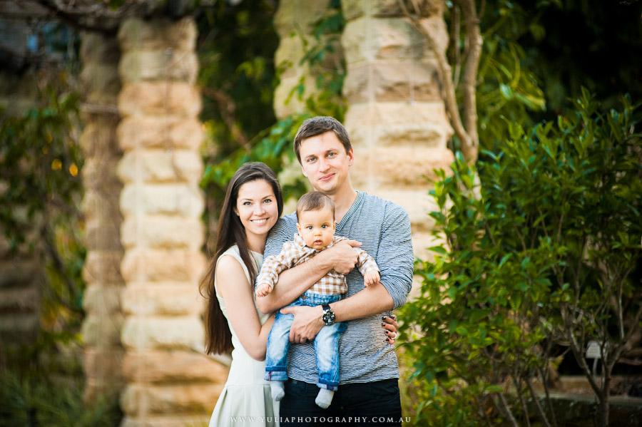 Даша и семья