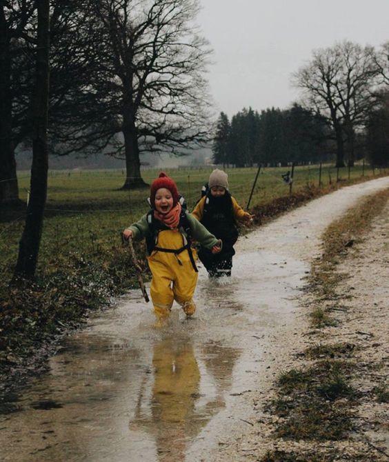 О прогулках под дождем