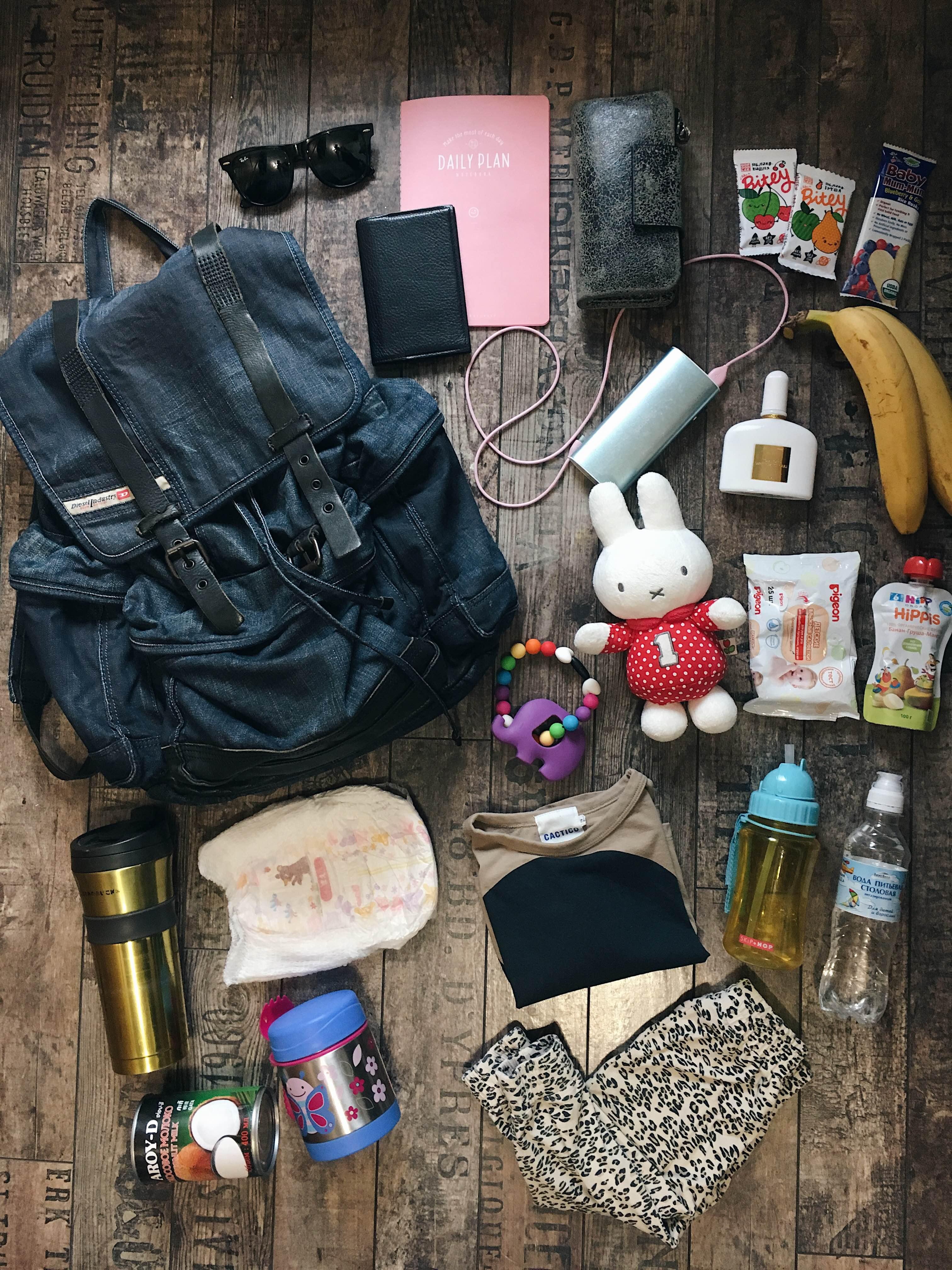 Таня Литва, ее брутальный рюкзак, бананы и кокосовое молоко